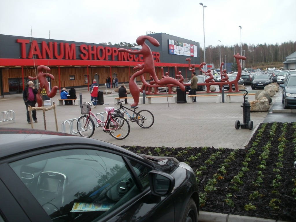 tanum shoppingcenter dinosaurier
